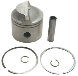 18-4100 5006667 .030 Os Piston And Ring Set Evinrude/johnson 100-235hp Outboard