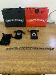 Chrome Hearts 3-piece Set Keeper Ring Scroll Band Paper Chain