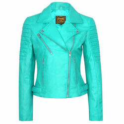 Vintage Womenand039s Turquoise High Quality Bomber Jacket Retro Black Quilted Jacket