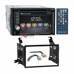 Planet Audio Car Radio Stereo 2 Din Dash Kit Harness For 04-12 Nissan Truck Suv