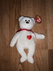 Rare And Discontinued 1994 Valentino Beanie Baby With Brown Nose