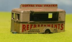 Matchbox Lesney 74 - Mobile Canteen - W/gray Wheels And Light Blue Base