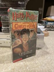 Harry Potter Goblet Of Fire Promo Vhs New Sealed Holy Grail Grade It J K Rowling