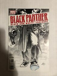 Marvel Black Panther 50 Comic 2002 And White: Prologue 1st Appearance Kevin Cole