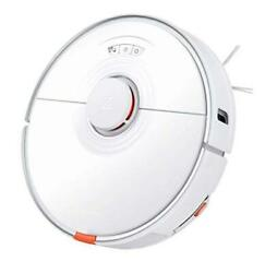 S7 Robot Vacuum And Mop Cleaner With Sonic Mopping Auto-empty And White