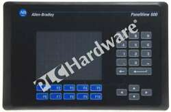 Allen Bradley 2711-b6c5 /b Panelview 600 Color/touch/keypad/rs232dh-485 Ac