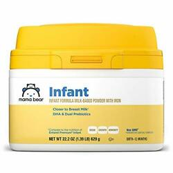 Mama Bear Gentle Baby Formula Milk-based Powder With Iron Complete Nutrition ...