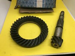 Vw Beetle 1960-1967 Crown Ring And Pinion 8/35 Part 113517143b Genuine Nos