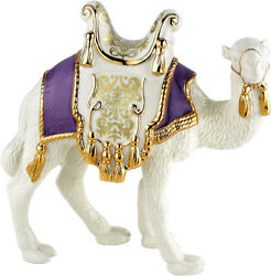 Lenox First Blessing Nativity Standing Camel Figurine Purple Saddle New