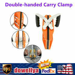 Double Hand Carry Clamp For Granite Marble Stone Slab Glass Carry Tools 150kg