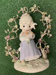 Precious Moments 1996 Limited Edition In Gods Beautiful Garden Of Loveandnbsp261629
