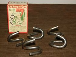 Vintage Old 2 To 5 Ton Trucks Tire Chains 5 Monkey Links In Box