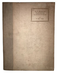 1928, 1st, Old English Furniture, By H. Avray Tipping, Antiques, Illustrated