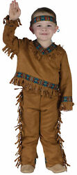 Native American Indian Boy Toddler Costume - Multiple Sizes