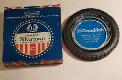 Vintage Bf Goodrich Rubber Tire Ashtray Silvertown Advertising Collectible W/box
