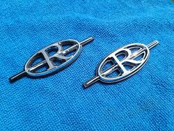 Nos Gm 1979-85 Buick Riviera Roof Emblems 79 80 81 82 83 84 1981 1983 1984 1985