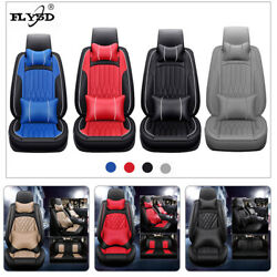 Infant Car Seat Cover Fly5d Pu Leather Surround Front Rear Fashion Cushions Sets