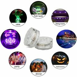 6x Led Submersible Light Waterproof Hot Tub Underwater Lights Swimming Pool Pond