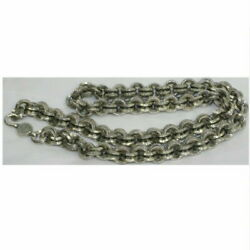 Genuine Chrome Hearts Gentlemanand039s Width 5cm Long Length 54 Weight 151 4g Double