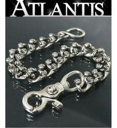 Chrome Hearts Article Wallet Chain Crow 1 Clip Short Silver Sv925