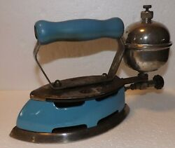 Vintage Coleman Lamp And Stove Co. Model 4-a Gas Iron Instant Litetoronto Canada