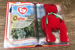 Ty Teenie Beanie Babies - Osito The Bear - Mint With Mint Tags - Rare Unopened