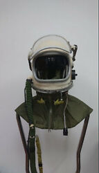 Ussr War Aircraft Helmet In Very Rare New Condition Gsh 6a Collector Condition