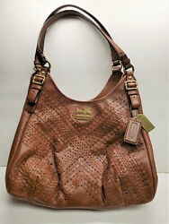 COACH Madison Criss Cross Leather Collection D1282 19839 $135.00