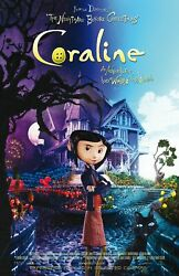 Coraline Movie Poster Wall Art Print High Quality