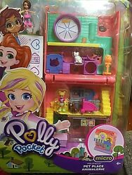 Polly Pocket Micro Pet Place Pollyville For Ages 4+ By Mattel New