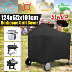Bbq Gas Grill Protector Covers Waterproof Heavy Duty Garden Barbecue Outdo