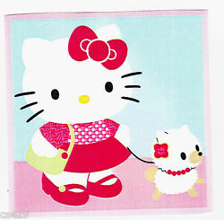 Hello kitty dog wall decal prepasted border cut out 4 inch