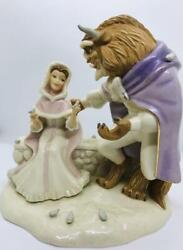 Super Rare Lenox Beauty And The Beast Love First Touch Holiday Christmas