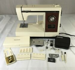 Vintage Sears Kenmore Model 158-1784183 Portable Sewing Machine With Accessories