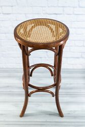 Mid-century Bentwood Rattan Thonet Style Vintage Bar Stool Local Pickup Only