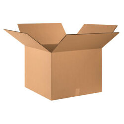 24 X 24 X 18 Double Wall Boxes Brown Shipping/moving Boxes 100 Pieces