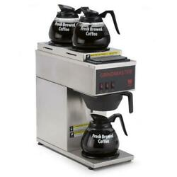 Grindmaster - Cpo-3p-15a - Pourover Coffee Brewer W/ 3 Warmers
