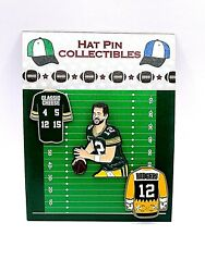 Green Bay Packers Aaron Rodgers Jersey Lapel Pins-classic Cheese Collectibles-3