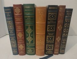 The Franklin Library First Edition Books Collection Hardcover Classics Lot Of 7