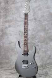 Suhr 2019 Select Modern Roasted Maple Neck Aldrich Charcoal Frost Metallic