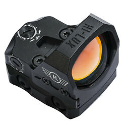 Leatherwood Hi-lux Td-3 Tac Dot Micro Red Dot Sight W/ Mount For Rifle Pistol