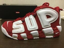 Supreme Nike Air More Uptempo Us10 Size 28 Cm Domestic Genuine Product Japan