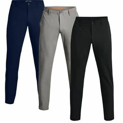 Under Armour Mens Ua Coldgear Infrared Storm Tapered Fit Pants Golf Trousers