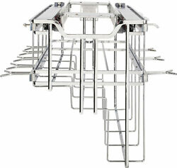 Hardware Resources Sws-po21 Top Mount Pull Out Hanging Pot And - Chrome