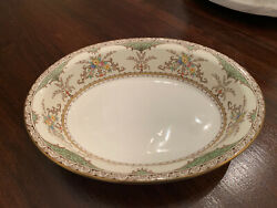 Minton Chatham Green Pattern Number S123 Oval Serving Bowl