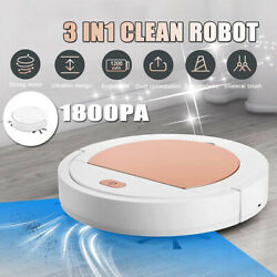 Smart Machine Mini Mopping Robot Vaccum Cleaner Automatic Usb Charging Sweeper