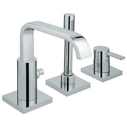 Grohe 19 302 1 Allure Deck Mounted Roman Tub Filler - Chrome