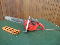 Vintage Homelite Xl Automatic Chainsaw Chain Saw With 16 Bar