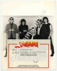 Wayne County And The Electric Chairs Safari Rec 1978 Promo Photo + Compliment Slip