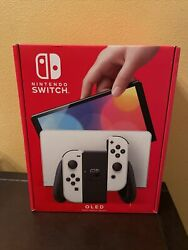 🎮nintendo Switch Oled White Console Brand New Unopened Pre Order Confirmed